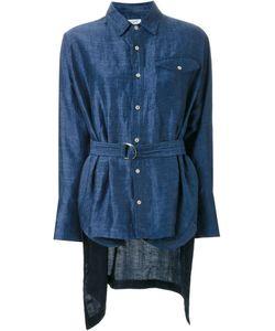 Fad Three | Asymmetric Belt Shirt