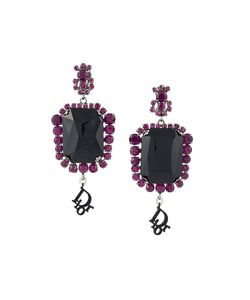 Christian Dior Vintage | Défilé Crystal Clip-On Earrings