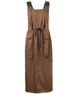 G.V.G.V. | G.V.G.V. Twill Utility Pinafore Dress