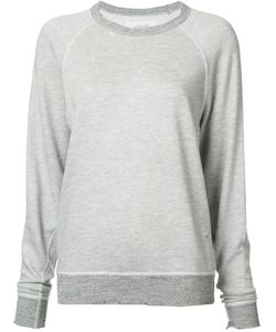 The Great | Destroyed Effect Sweatshirt 2 Cotton/Rayon