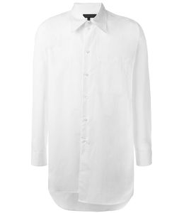 Ann Demeulemeester Grise | Long Asymmetric Shirt Small Cotton