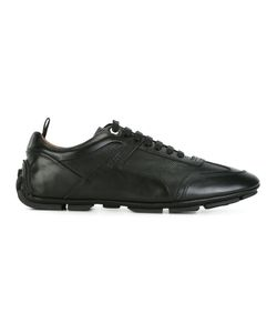 Bally | Perforated Texture Lace-Up Sneakers 9