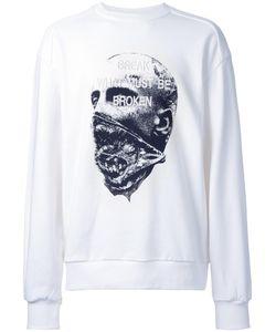 Juun.J | Embroidered Sweatshirt 48 Cotton/Polyurethane