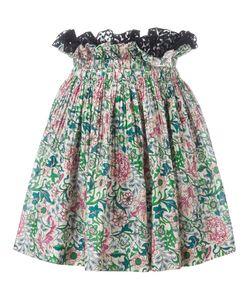 No21   Smocked Waist Skirt 40 Cotton/Polyamide