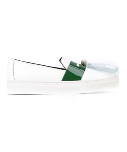 House Of Holland | Tassel Detail Slip-On Sneakers 39