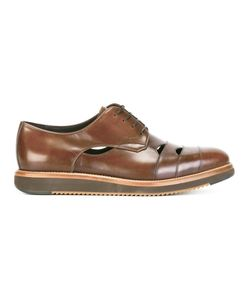 Salvatore Ferragamo | Cutwork Derby Shoes 6