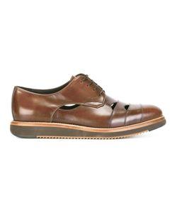 Salvatore Ferragamo | Cutwork Derby Shoes 6