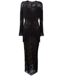 Zuhair Murad   Slip Tassel Maxi Dress