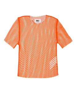 Mm6 Maison Margiela   Fishnet T-Shirt Xs Polyamide/Spandex/Elastane