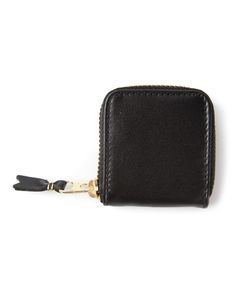 Comme Des Garçons | Wallet Zipped Wallet Adult Unisex Calf Leather