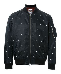 Education From Youngmachines | Star Patterned Bomber Jacket