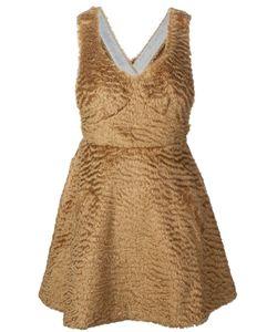 Sretsis | Faux Fur A-Line Dress