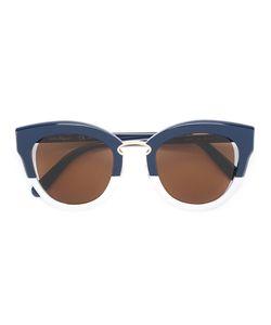 Salvatore Ferragamo | Two Tone Cat Eye Sunglasses