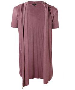 Unconditional | Draped Hooded Waistcoat T-Shirt