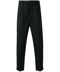 AMI Alexandre Mattiussi | High Waisted Pleated Trousers Size 36