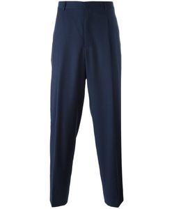 E. Tautz | Pleated Wide Leg Trousers 30 Wool/Viscose