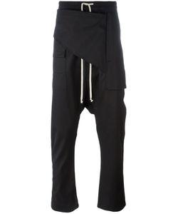 Rick Owens DRKSHDW | Drop-Crotch Trousers Size Large