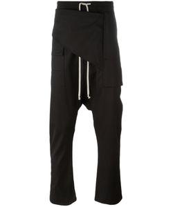 Rick Owens DRKSHDW   Drop-Crotch Trousers