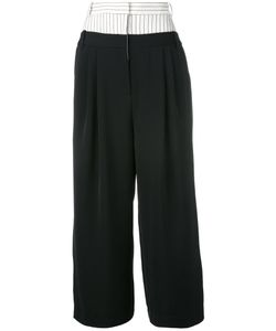Tibi | Loose-Fit Cropped Trousers