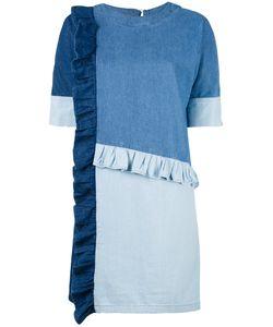 Steve J & Yoni P | Patchwork Denim Dress