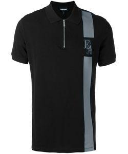 Emporio Armani | Zipped Polo Shirt Size Large