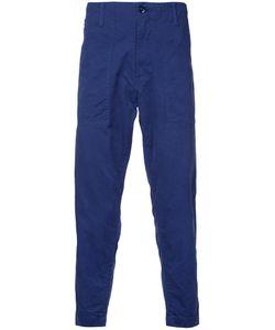 Ganryu Comme Des Garcons | Cropped Loose-Fit Trousers Men