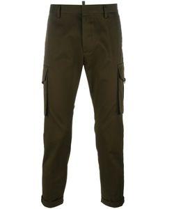 DSquared² | Cropped Cargo Pants 50 Cotton/Spandex/Elastane