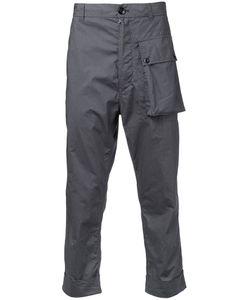 Wooster + Lardini | Cropped Trousers Men