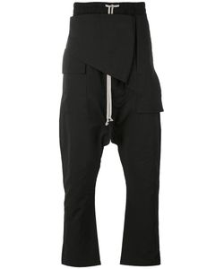 Rick Owens DRKSHDW | Layered Drop-Crotch Trousers