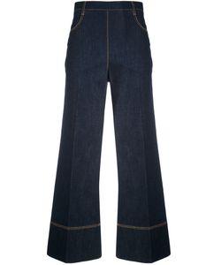 Ermanno Scervino   Cropped Wide-Leg Jeans Women