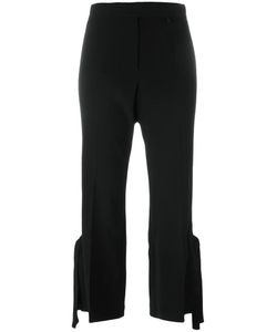 Calvin Klein Collection | Strappy Detail Cropped Trousers Size 40