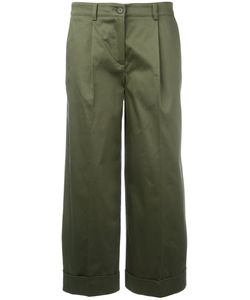 P.A.R.O.S.H. | P.A.R.O.S.H. Straight Cropped Trousers Size Medium
