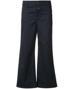 Closed | Flared Cropped Trousers Size