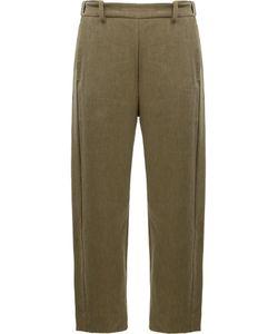 Ilaria Nistri | Slim-Fit Trousers 42 Linen/Flax/Viscose