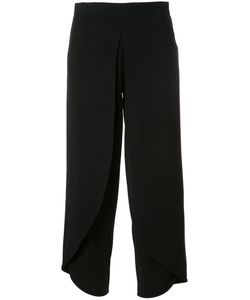 Rodebjer | Cropped Trousers Medium Recycled Polyester/Spandex/Elastane/Viscose