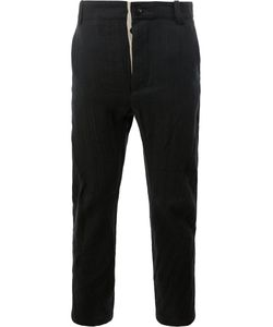 Cedric Jacquemyn | Straight Leg Cropped Trousers Size 50