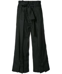 Tome | Flared Cropped Trousers L
