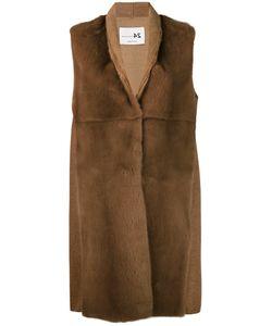 Manzoni 24 | Sleeveless Fur Jacket