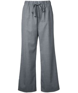 Astraet | Wide-Leg Cropped Trousers 1 Polyester