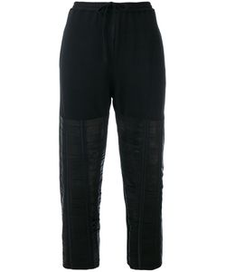 Ilaria Nistri | Leather Strap Track Pants