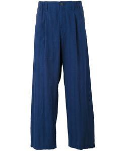 Issey Miyake | Wide-Legged Ribbed Trousers Men