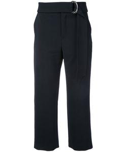 Le Ciel Bleu | Cropped Belt Trousers Size 36