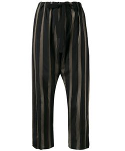 Hache   Striped Cropped Trousers Size 42