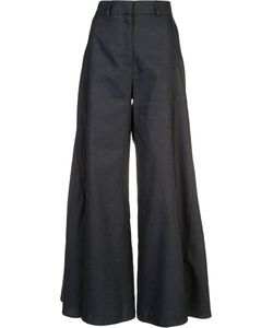 Peter Pilotto | Flared Godet Trousers Size 10