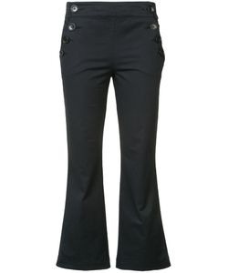 Hache   Cropped Sailor Trousers 40