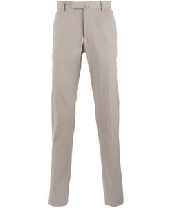 Incotex | Straight Cut Chino Trousers 52 Cotton/Spandex/Elastane