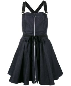 Adam Selman | Denim Overall Dress Size 4