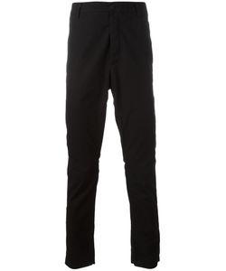 Poème Bohémien | Plain Tape Trousers 52 Cotton/Viscose/Linen/Flax/Spandex/Elastane