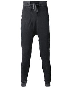 11 By Boris Bidjan Saberi | Embroidered Tapered Track Pants
