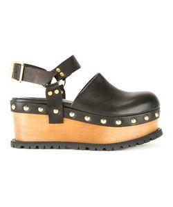 Sacai | Platform Clog Sandals 41
